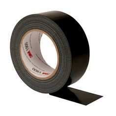 3M Value Duct Tape 1900, Black, Various Sizes