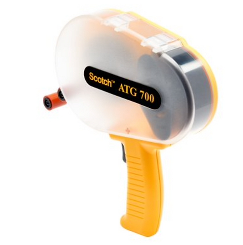 3M, ATG Adhesive Transfer Tape Gun ATG700, Yellow, Applicator