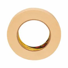3M Performance Industrial Masking Tape 301E, Beige, Various Sizes