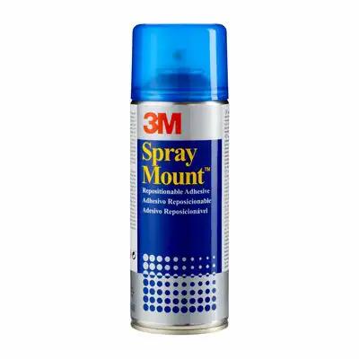 3M SprayMount Permanent When Dry Spray Adhesive, 400 ml