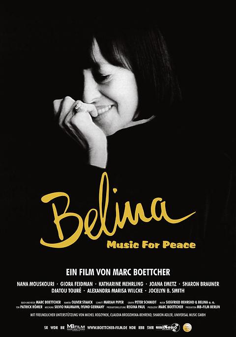 Belina - Filmplakat mit FBW-Auszeichnung