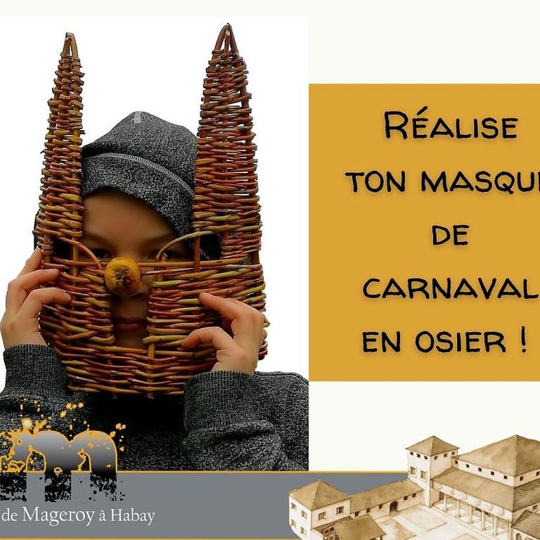 Atelier vannerie pour Carnaval