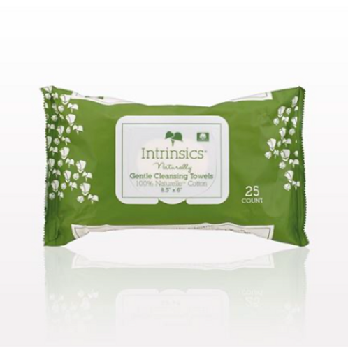 Intrinsic Gentle Cleansing Towels 25 ct.