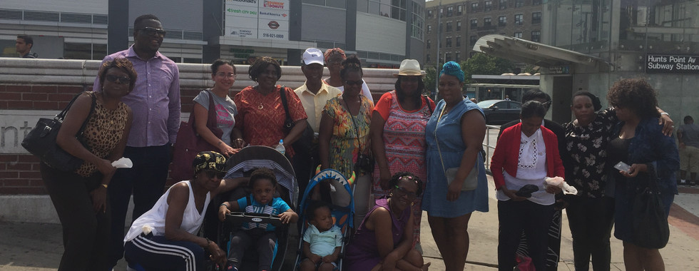 Outdoor Evangelism at the 6 Train - Hunts Point Station