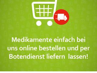 Online bestellen - jetzt auch bei uns