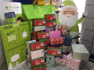 Weihnachten im Schuhkarton - Vielen Dank an alle fleißigen Helfer