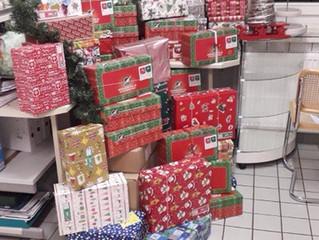 Weihnachten im Schuhkarton wieder sehr erfolgreich!