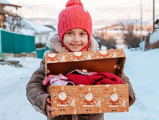Weihnachten im Schuhkarton - es geht wieder los...