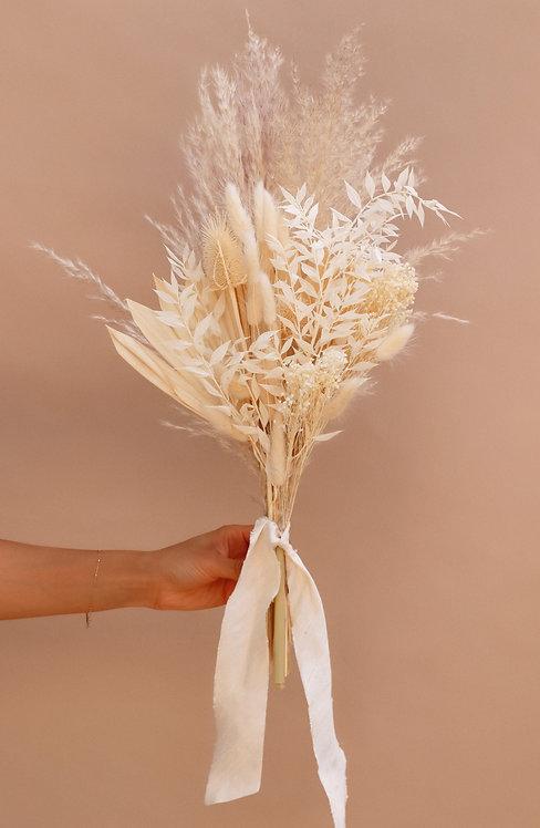Bleach White Dried Arrangement