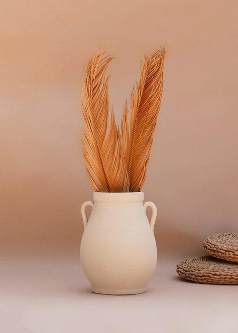 Sago Palm Leaf - Tan - 1 Stem