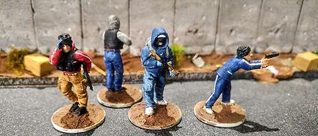 28mm Sicarios; Spectre Miniatures; rebels; hired guns