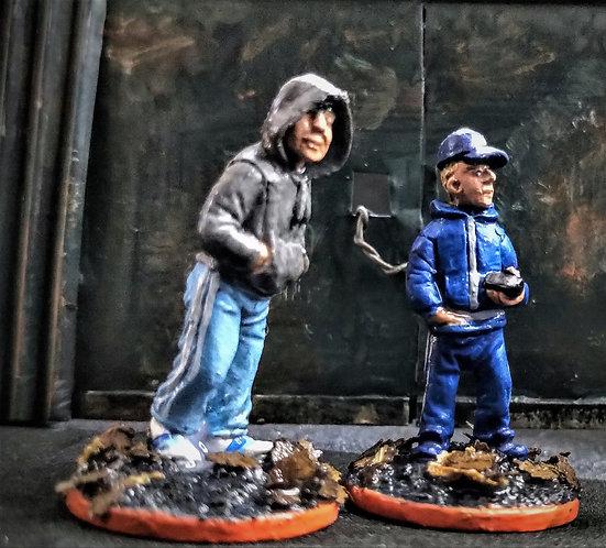 Civilians -Gang lads (Metal Cast)