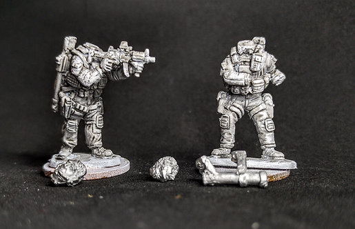 Authorised Firearms Officers -Support 3 (Metal cast)