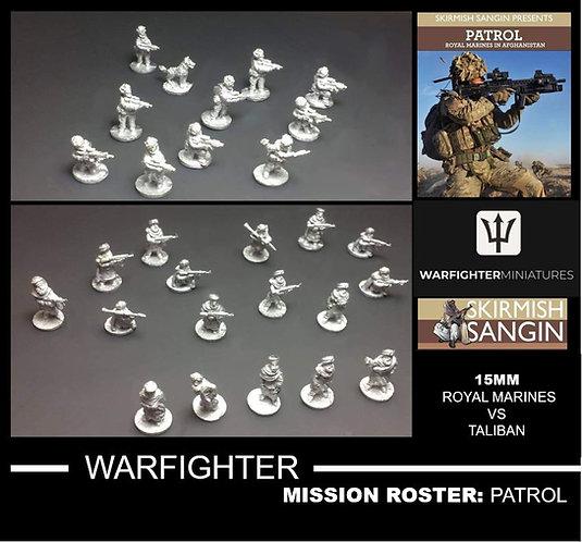 Royal Marines MISSION ROSTER: Patrol