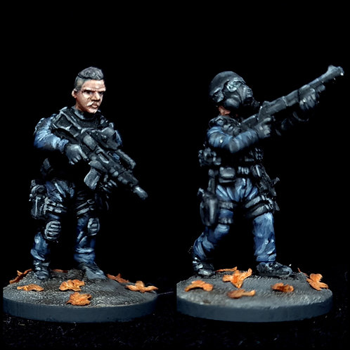Authorised Firearms Officers -Support 4 (Metal cast)