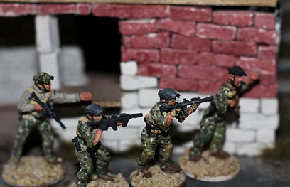 28mm NATO Special Forces; Spectre Miniatures; Modern Wargaming