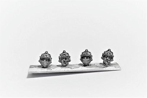 Ops Core (FAST helmet) helmeted heads