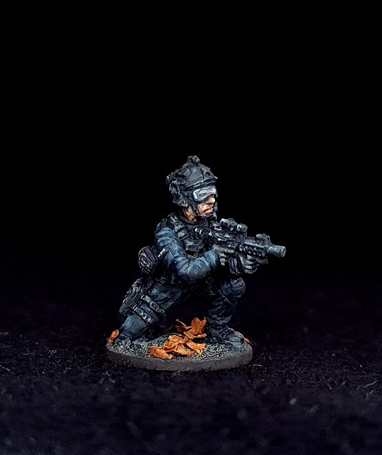 Firearms Officers -Single FO1001 (Metal)