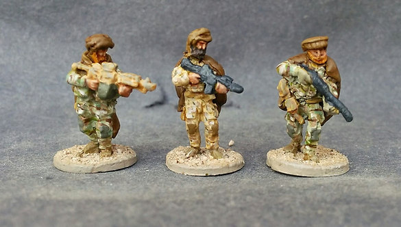 15mm Special Forces (TF Tribal)-12 Metal Cast
