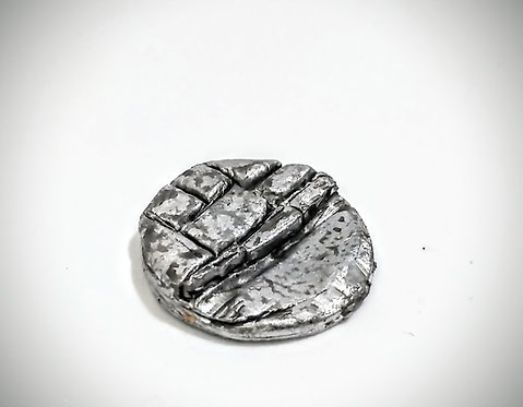 6 Metal cast 20mm bases