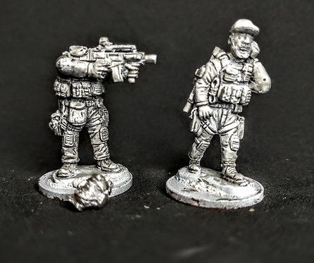 Authorised Firearms Officers -Support 2 (Metal cast)