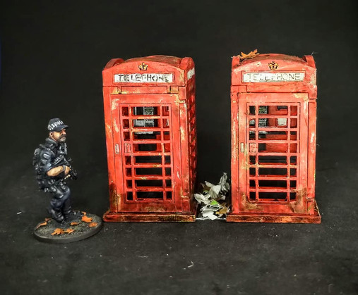 Blotz phone boxes