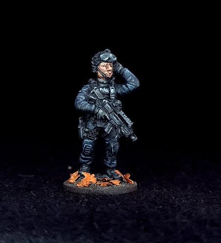 Firearms Officers -Single FO1004 (Metal)