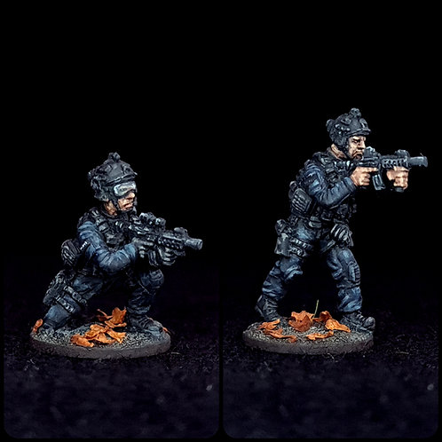 Firearms Officers -Firing 1 (Metal)