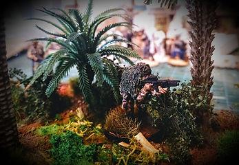28mm SAS sniper; Ghillie Suit; Spectre Miniatures