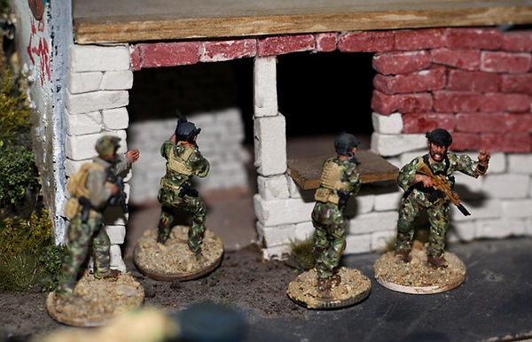 28mm NATO Special Forces; Spectre Miniatures; Modern Wargaminig