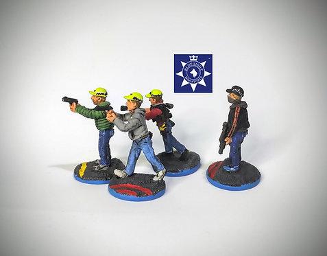 Plain Clothes Officers -Interceptors (Metal cast)