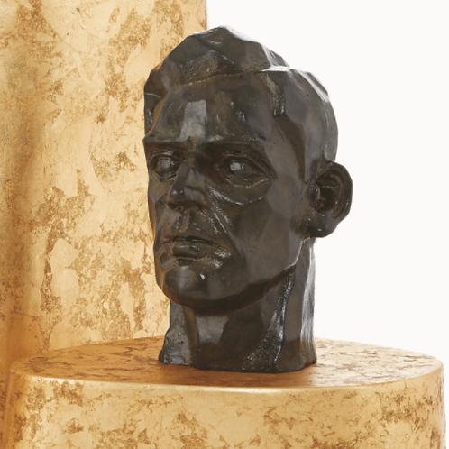 Calvin Sculpture- Bronze Verdi