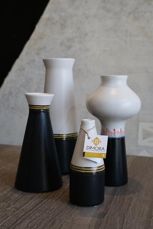 Set de ceramica black & white