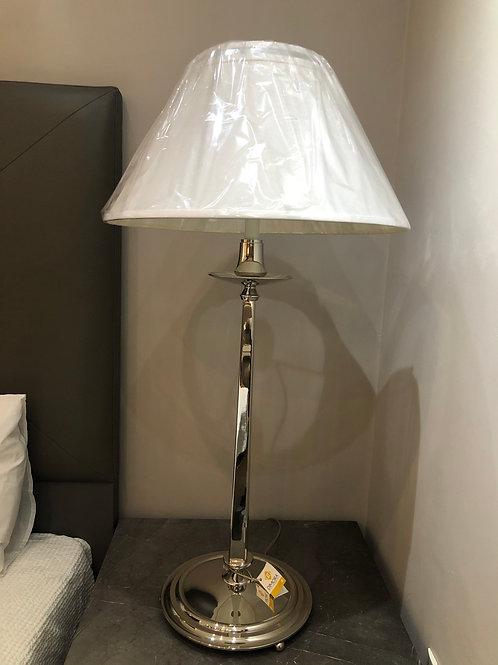 Simple stem lamp nickel