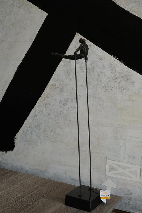 Arched back acrobat