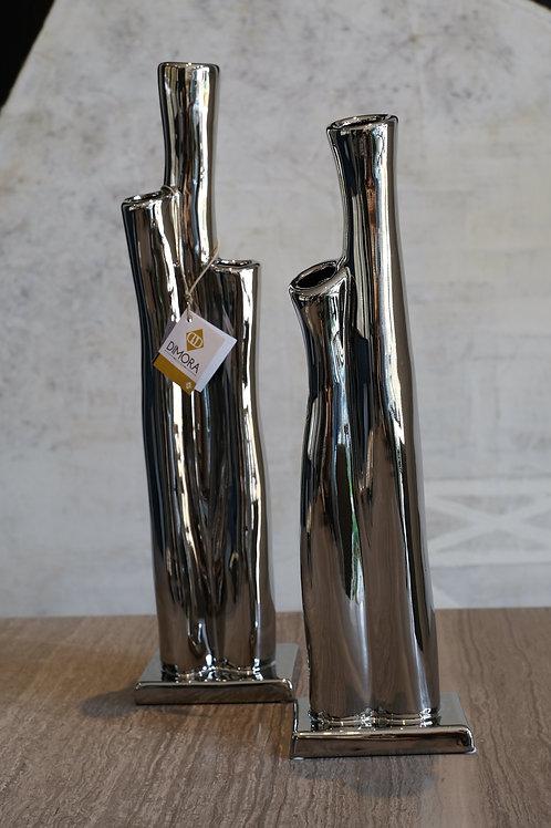 Great Barrier Vase Silver