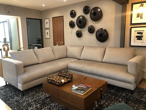 Sofa escuadra en tela