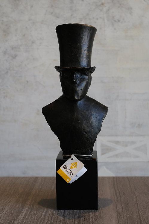 Hat sculpture top hat