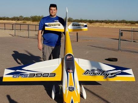 Welcoming Team Pilot Jake Shedroff