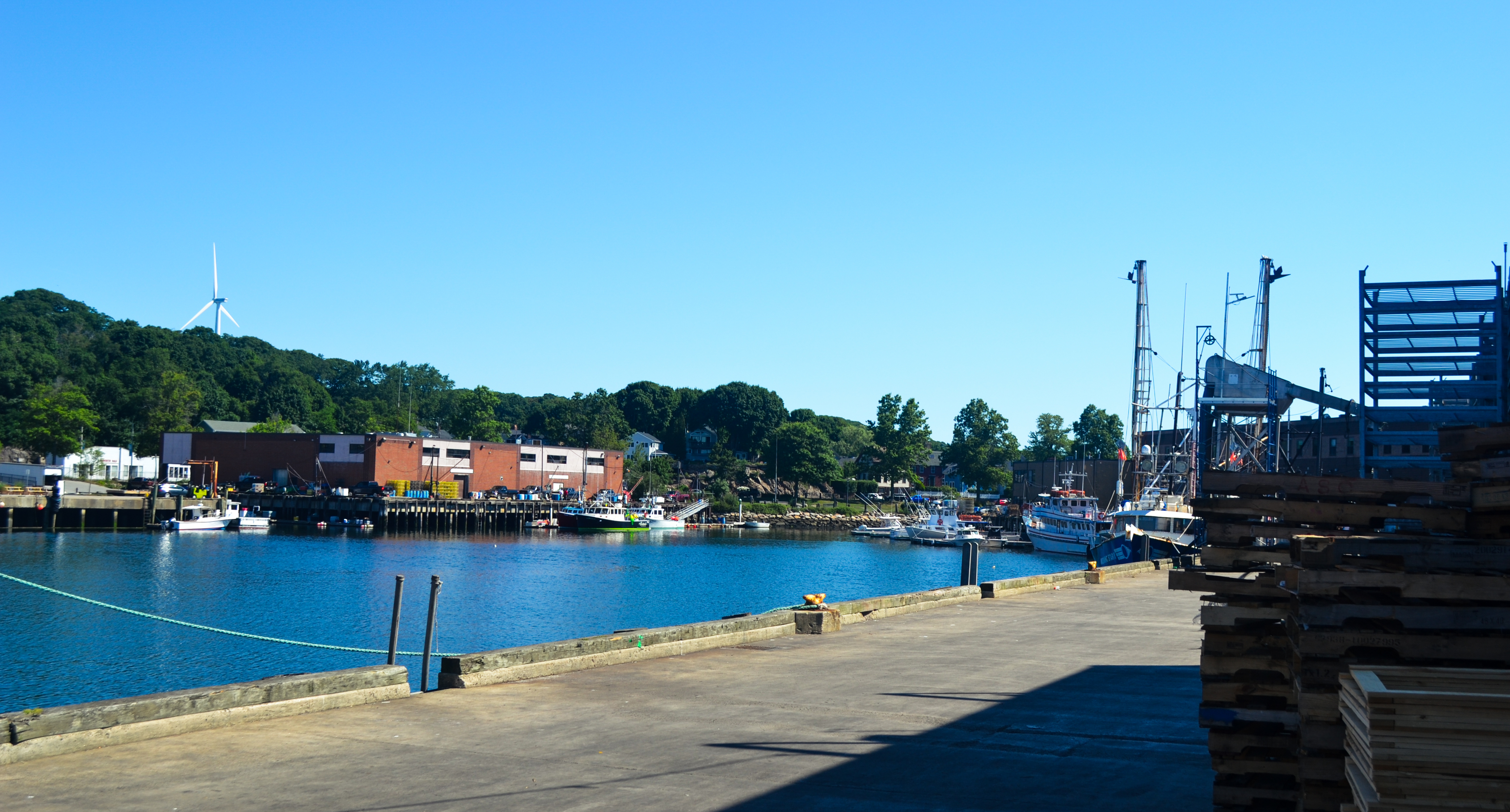 The port of Gloucester