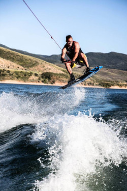 Our power boat rentals kick out monster waves that are a dream to wakeboard behind
