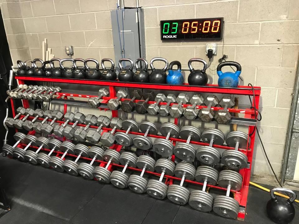 CrossFit Training Dumbbells