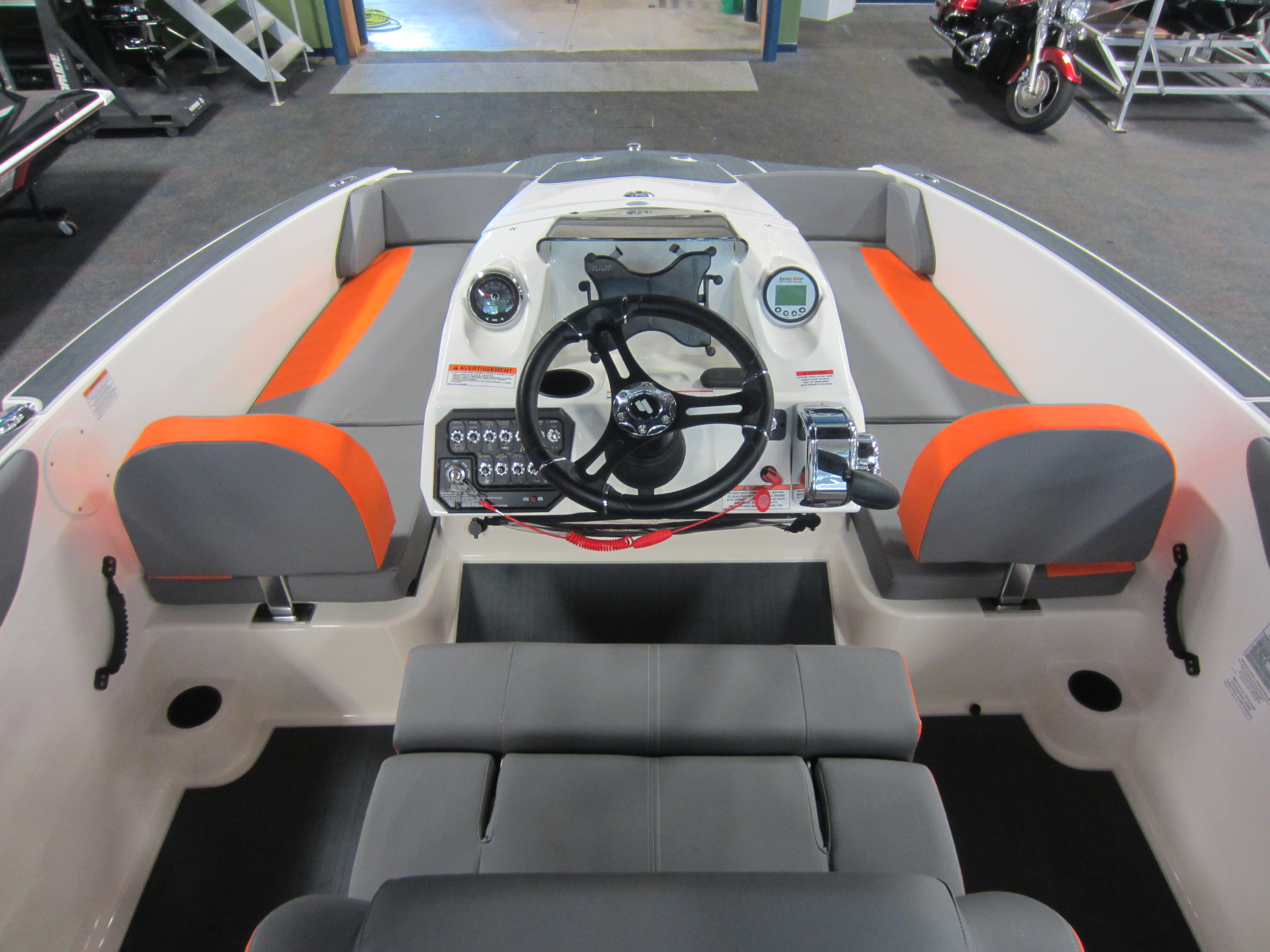 Center Console is perfect for surfing -