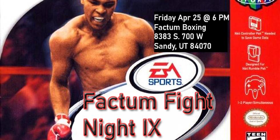 Factum Fight Night IX - A USA Boxing Event
