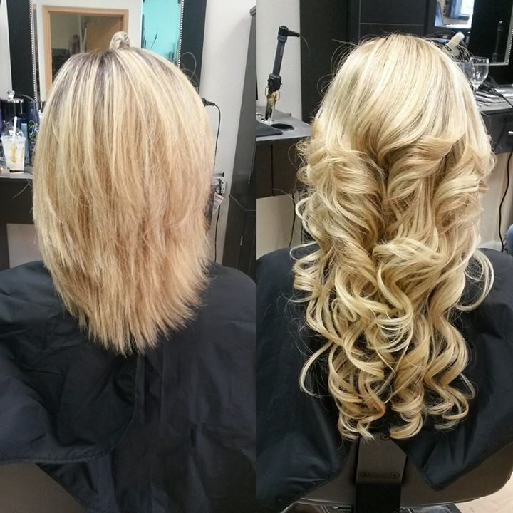 My favorite thing to do!! Beautiful Extensions for a beautiful girl!! Brandie!!