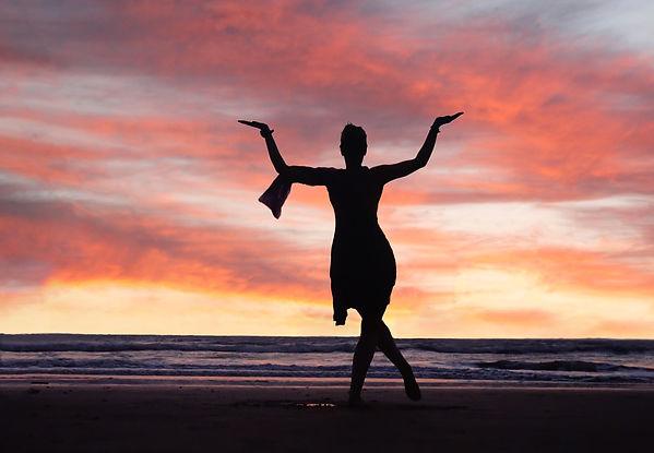 Canva - Woman  as dancing Shiva Goddess.