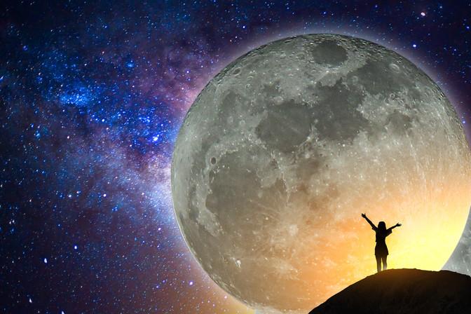 Third Eye Activation with Taurus Full Moon