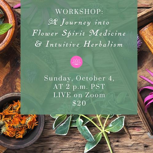 Workshop: Flower Spirit Medicine