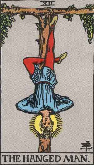 The Hanged Man and the Pieta