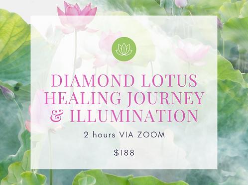 DIAMOND LOTUS HEALING JOURNEY & ILLUMINATION